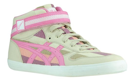 asics sneakers dames roze