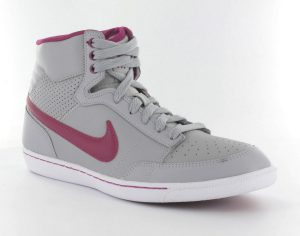 nike-womens-double-team-leather-high-sneakers-dames-maat-365-grijs-fuchsia-wit