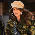 Kaia Gerber Shows Off Cool Street Style in Adidas Alexander Wang Sneakers