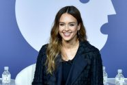 Jessica Alba Steps Out With Baby Hayes For the First Time in Favorite Sneakers